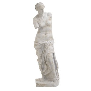 Venus Statueta Femeie mare, Ciment, Gri