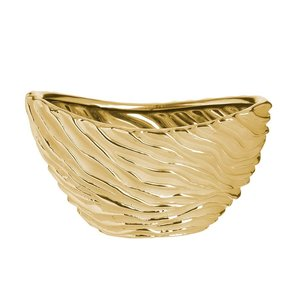 Vivien Bol decorativ, Ceramica, Auriu