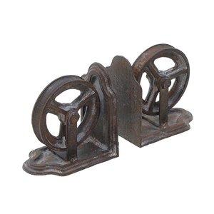 Wheely Set suport opritor carti roti, Metal, Maro