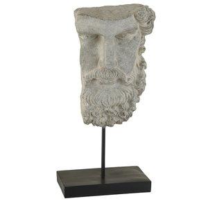 Zeus Statueta, Polirasina, Gri