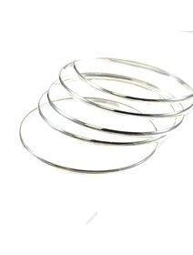 Bratara IJOO, fixa, din argint 925 - Silver Circle