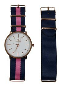 Ceas Dama Crystal Blue - Changeable Strap