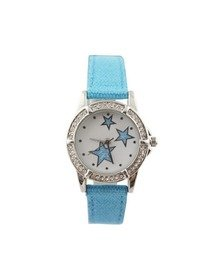 Ceas Copii Cystal Blue - Stars in Light Blue