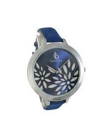 Ceas dama - Crystal Blue - Moon Flower