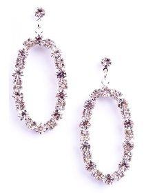 Cercei cu cristale fashion