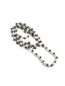 Colier cu perle de cultura cu diametrul de 6mm
