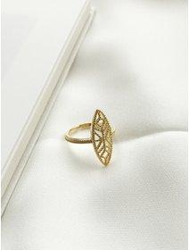 Inel IJOO, din argint 925 placat cu aur - Gold Line