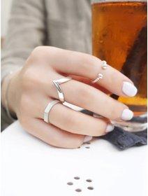 Inel IJOO, din argint 925 - Twisted & Beads