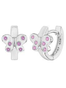 Set bijuterii argint 925, pentru fete, - Pink Butterfly