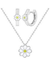 Set bijuterii copii, din argint 925, Happy Daisy