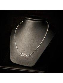 Set format in colier si cercei - simbolul infinitului