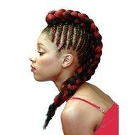 Extensii Codite Afro Hot Braid 70 cm
