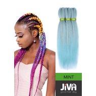 Extensii codite afro Waterfall braid mint