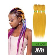 Extensii codite afro Waterfall braid yellow
