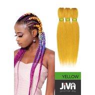 Extensii codite afro Waterfall braid yellow