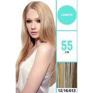 Extensii VIVA 50 cm culoare P12/16/613 Blond deschis suvitat