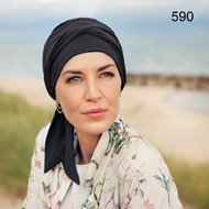 Turban Beatrice cu Esarfa Uni by Christine Headwear