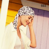 Turban Beatrice Print by Christine Headwear