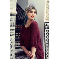 Turban Boho Spirit Sapphire 580 Marroccan Feeling