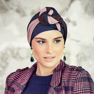 Turban Colour Mix Print Karla 617