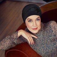 Turban elegant SHAKTI designer Christine Headwear