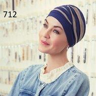 Turban Shanti Bicolor Designer Christine Headwear