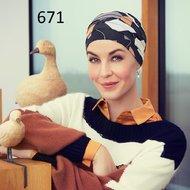 Turban Yoga Print Christine Headweare
