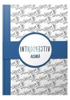 Agenda Introspectiv (albastru)