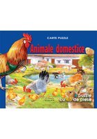Animale domestice carte puzzle