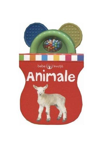 Bebe invata - Animale. Prima mea carte-jucarie