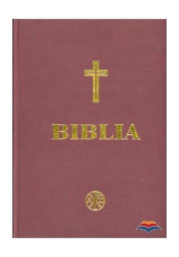 Biblia (cu scris mare)