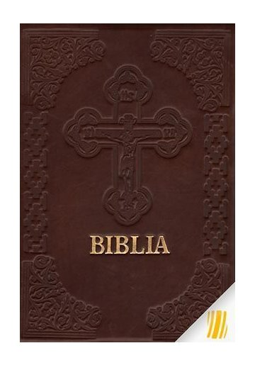 Biblia (format mare-cu scris mare) legata in piele