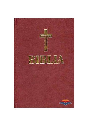 Biblia - format mijlociu