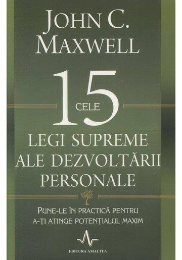 Cele 15 legi supreme ale dezvoltării personale