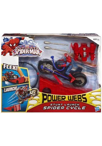 Figurina Spider Man Spider Cycle