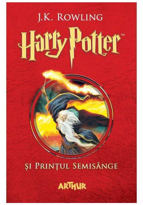 Harry Potter si Printul Semisange. Harry Potter Vol. 6 imagine librex.ro 2021