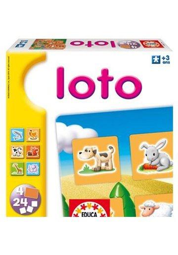 Joc Loto cu Diverse Animale