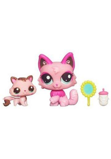 Littlest PetShop Mama si Bebelusul Pisicuta
