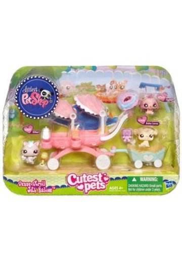 Littlest PetShop Sunny Stroll with Babies