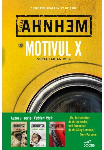 Motivul X. Seria Fabian Risk Vol. 4