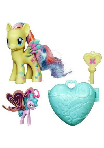 My Little Pony Figurine Fluttershy si Sun Breezie