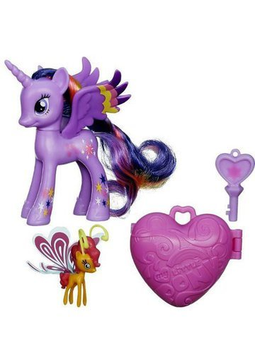My Little Pony Figurine Twilight Sparkle si Sunset Breezie