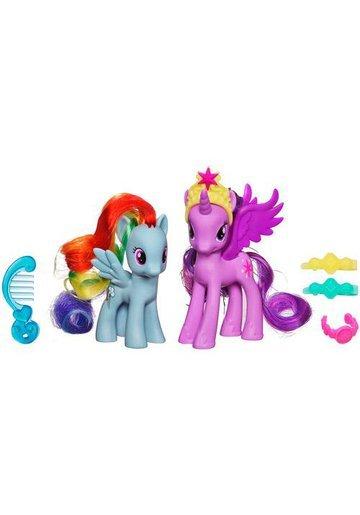 My Little Pony - Twilight Sparkle si Rainbow Dash