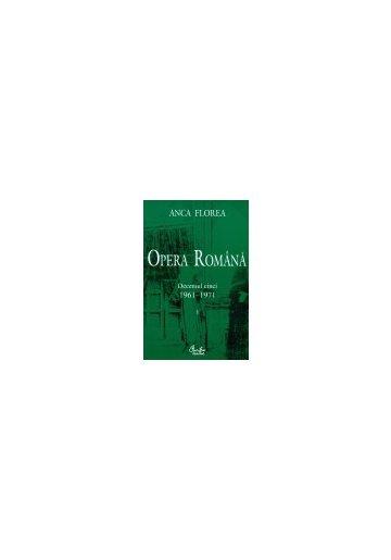 OPERA ROMANA VOL 1-2