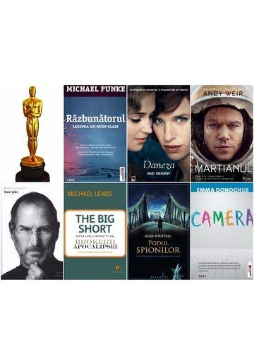 Pachet carti ecranizate Oscar 2016 - 7 Volume