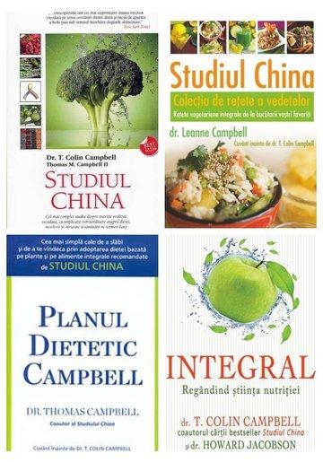 Pachet Colin Campbell, 4 volume