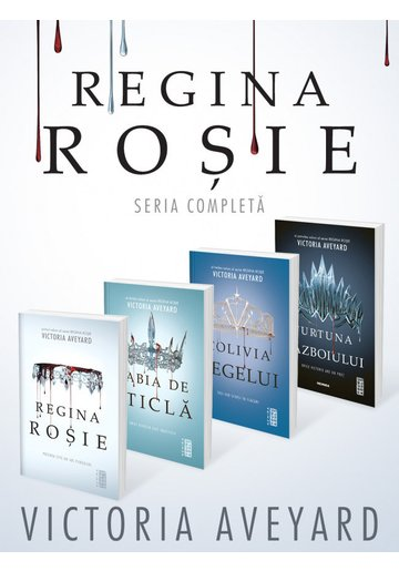 Pachet complet Regina Rosie. Set 4 carti