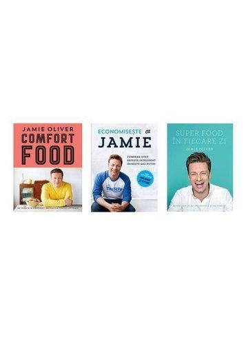 Pachet Jamie Oliver - 3 volume