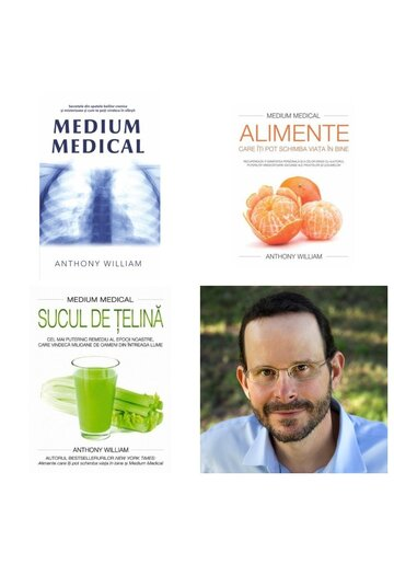 Pachet Medium Medical - Anthony William - 3 Volume