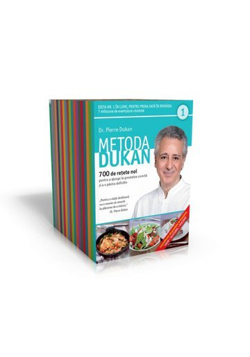 Pachet Metoda Dukan (20 de volume)